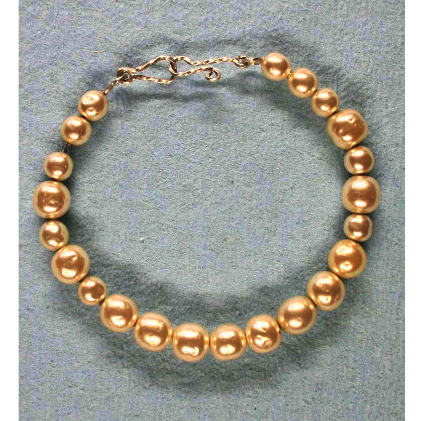 image showing Bracelet Pearls Agentium Silver 001