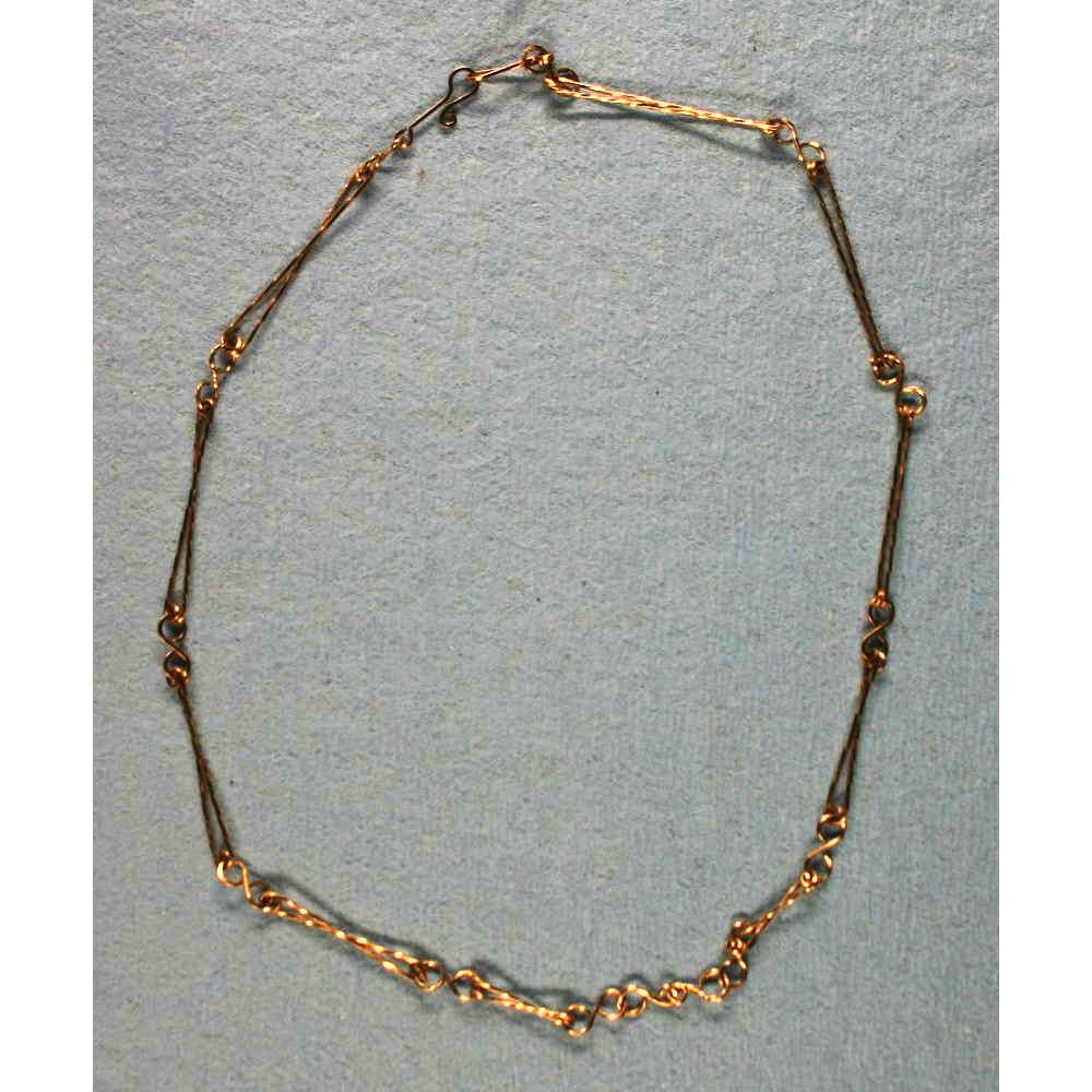 image showing Figure Of Eight Rolled Gold Chain 001